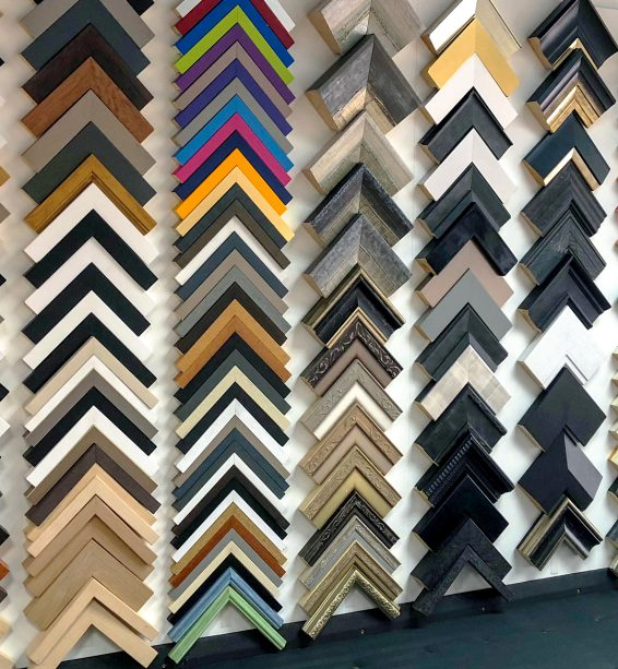 Inside NW Creative - our moulding selection